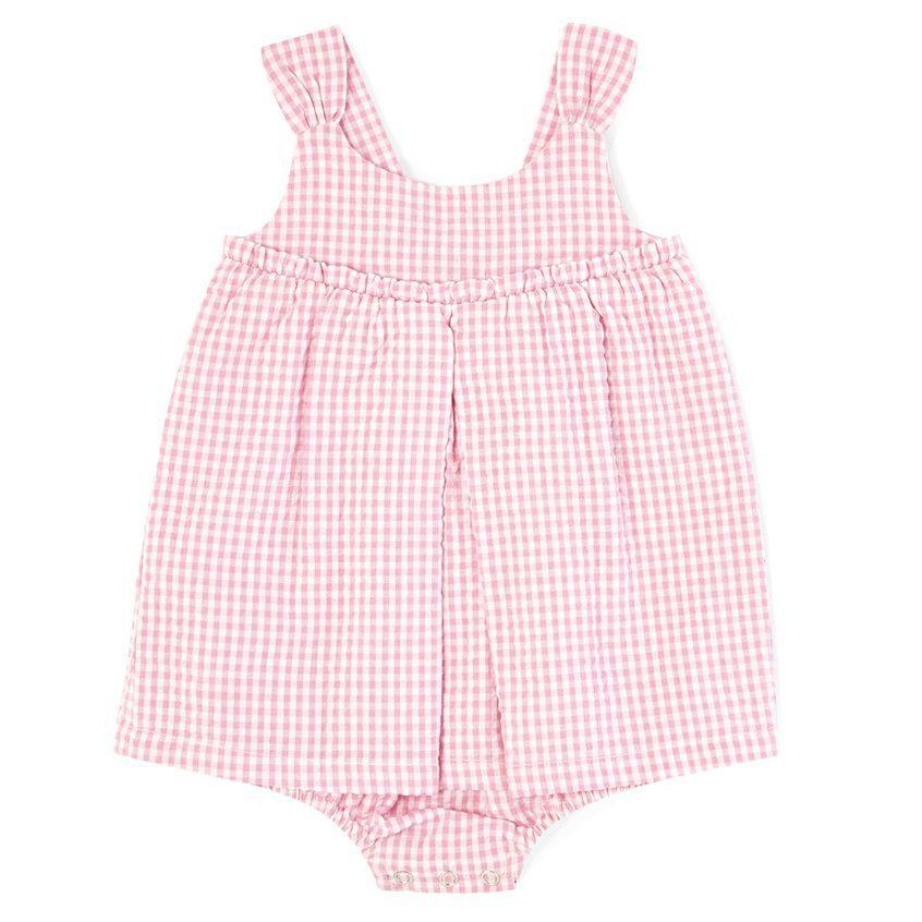 vestido rosa para recien nacida primark